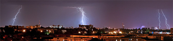 Lightning can cause harm to your electrical devices